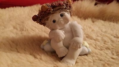 Adorable Dreamsicles Angel Baby On Cloud Figurine Signed By Kristen