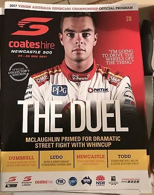 Newcastle V8 Program 2017 Last Race Brand New Program