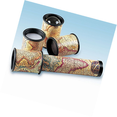 Bits and Pieces - Multi Lenses Old Map Kaleidoscope-Map Accents Kaleidoscope Wit