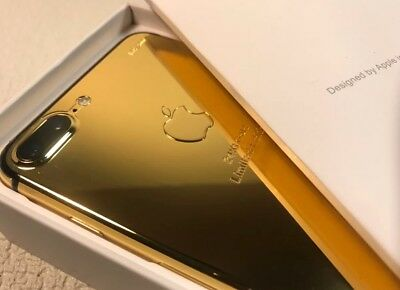 24K Gold Plated | Limited Edition Apple iPhone 7 Plus - 128GB (Unlocked)