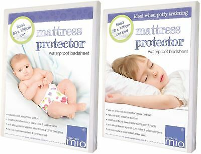 Bambino Mio FITTED MATTRESS PROTECTOR Cot & Cot Bed Baby Nursery/Sleeping BNIP