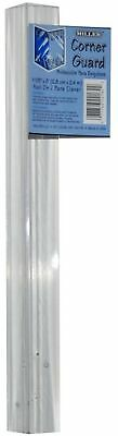 Miller LLC Non-adhesive 96-in Clear Plastic Wall Corner Guards Decorative Guards