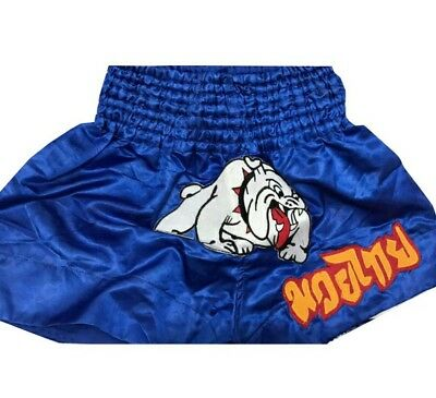 Bulldog Muay Thai  Kick Boxing Shorts Mma Boxing Adult Kids All Sizes