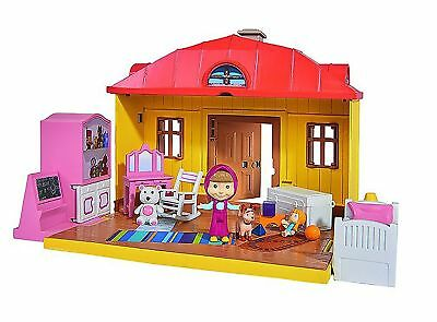 masha Masha and The Bear House playset (Multi-Colour)