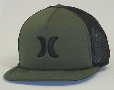 be16118ae2d MEN S HURLEY BLOCKED 3.0 Nike Aerobill Snapback Hat Cap Dark Green ...