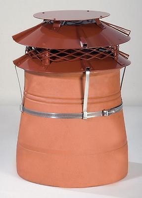 Brewer UFO MK2 Chimney Cowl For Solid Fuel And Gas