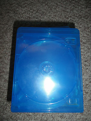6 Disc Blu-Ray CASE lot of 5 used typical wear