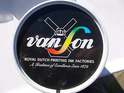 35 Quickson Pro Black Offset Ink Oil Base Vanson Vs3112 Vacuum Packed Can 2.2 Lb