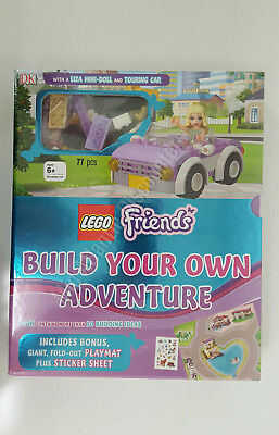 New Lego Friends Build Your Own Adventure with Liza Mini Doll and Touring Car