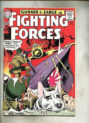 Our Fighting Forces #87-1964 vg+  Kubert Gunner & Sarge