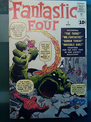 Fantastic Four 1   1st appearance of the Fantastic Four!!