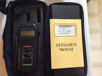 Blue Point/ Snap On MT139A Digital Hand Tachometer with Original Case