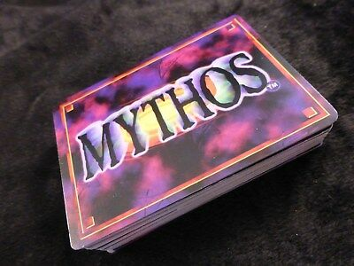 Mythos CCG : Expeditions of Miskatonic University RARE Complete 67 Card Set Pack