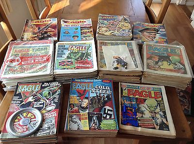 Eagle Comic 1982-94 Complete Collection With All Free Gifts