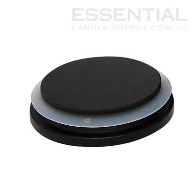 Black Wood Lid x6