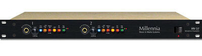 Millennia HV-37 Two-Channel Solid State Microphone and Instrument Preamplifier