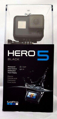 GoPro HERO 5 Action Camera Black Edition - 4K HD 12MP - Waterproof