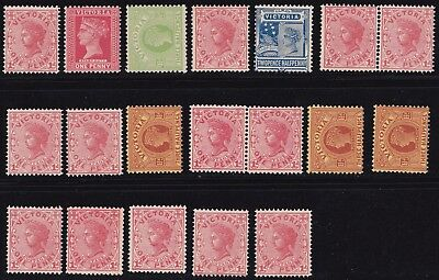 Stamps Australia - Victoria Mixed Lot - Mint Never Hinged.