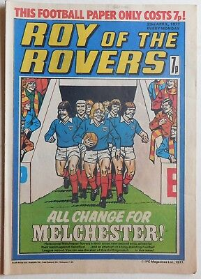 ROY OF THE ROVERS Comic - 23rd April 1977