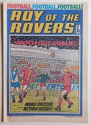 ROY OF THE ROVERS Comic - 7th May 1977