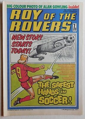 ROY OF THE ROVERS Comic - 4th June 1977