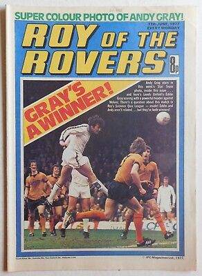 ROY OF THE ROVERS Comic - 11th June 1977