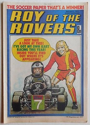 ROY OF THE ROVERS Comic - 2nd July 1977