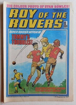 ROY OF THE ROVERS Comic - 22nd October 1977