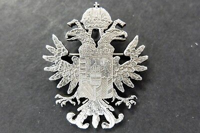 Unique Cut Out Silver Maria Theresa Thaler Coin Pendant/brooch,  Lot#61