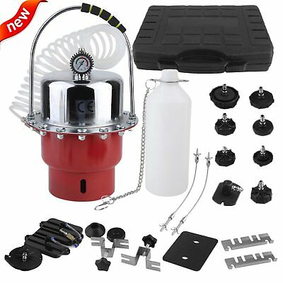 Pro Pneumatic Air Pressure  Brake and Clutch Bleeder Tool Kit for Car Bleeding V