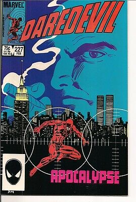 Daredevil #227 and 228 by Marvel Comics