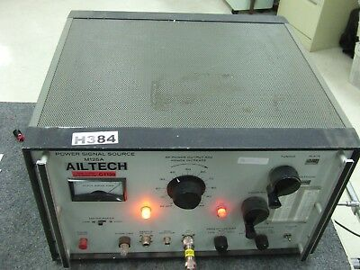 Ailtech M125A Power Signal Source *Tested & Working*
