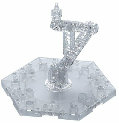 Gundam Action Base 5 Clear Display Stand Japan
