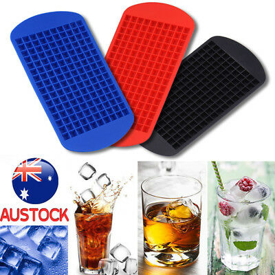 Ice Cube Tray Frozen Cubes Trays Mold Home Kitchen Tool 160 Summer Drink Party