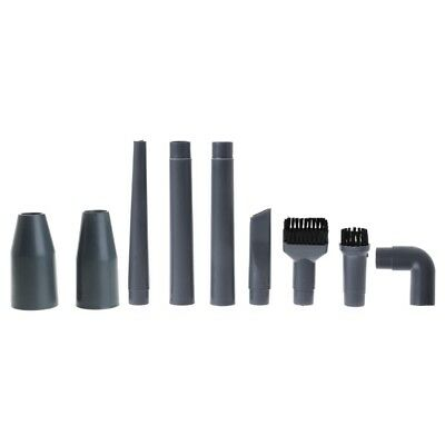 9Pcs Vacuum Cleaner Accessories Multifunctional Corner Brush Set Plastic Nozzle
