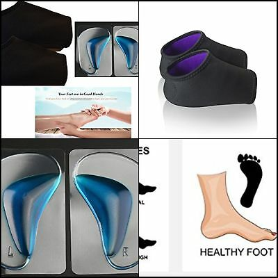 Plantar Fasciitis Heel Arch Support Compression Socks Foot Pain Relief Sleeves M