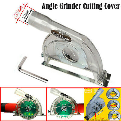 """Clear Cutting Dust Shroud kit Grinding Dust Cover for Angle Hand Grinder 4""""/ 5"""""""