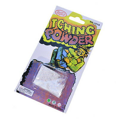 Itch Itching Non-toxic Powder Packages Teens Prank Joke Trick Gag Funny Magic 8g