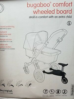 Bugaboo Comfort Wheeled Board - Stroll in comfort with an extra child. New 2016