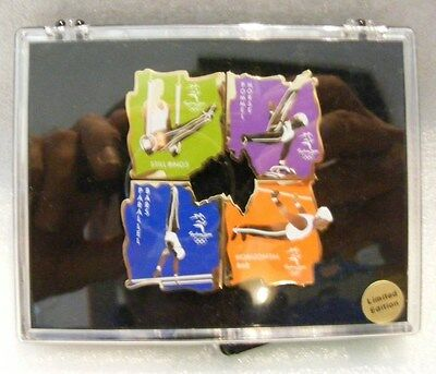 Olympic Pins 2000 Jimnesticks 4  Box  Limited Edition
