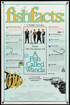 A Fish Called Wanda original film / movie poster