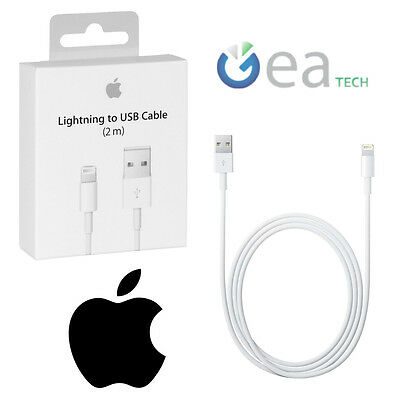 Cavo Lightning 2mt MD819ZM/A ORIGINALE APPLE in BLISTER Caricabatterie Ricarica