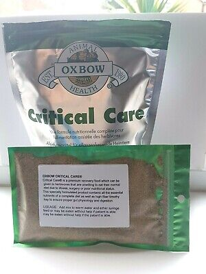 Oxbow Critical Care 100g Sachet for all herbivores