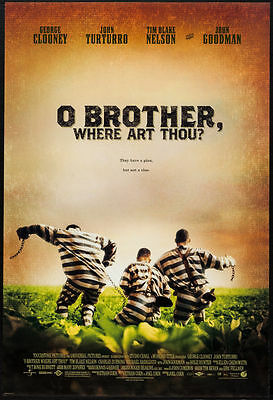 O Brother Where Art Thou original film / movie poster