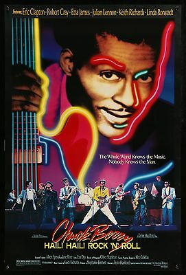 CHUCK BERRY: HAIL! HAIL! ROCK 'N' ROLL -  original film / movie poster