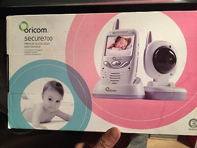 Oricom Secure700 Premium Digital Video Baby Monitor In Good Conditions