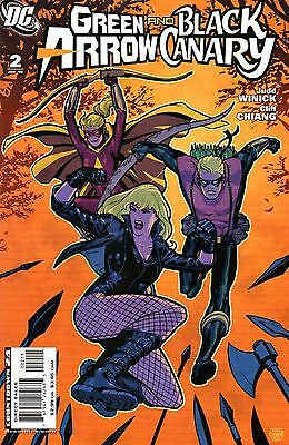 Green Arrow and Black Canary Comic 2 DC 2008 Judd Winick Cliff Chiang