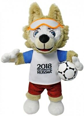 FIFA 2018 World Cup Russia Zabivaka 28 !!! cm Licensed Official Mascot Plush toy