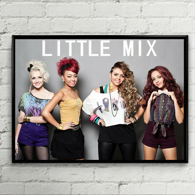 Little Mix Poster Girl Band Music Pop Tour Fan Jesy Nelson Concert Teen Girls -1