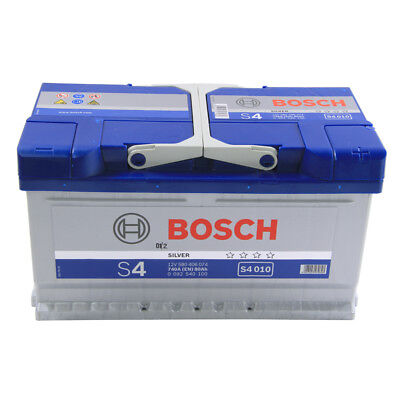 S4010 S4 110 Car Battery 4 Years Warranty 80Ah 720cca 12V Electrical By Bosch